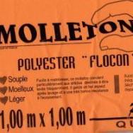 Molleton polyester Flocon