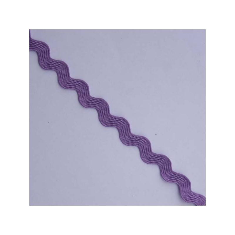 Galon zig zag violet