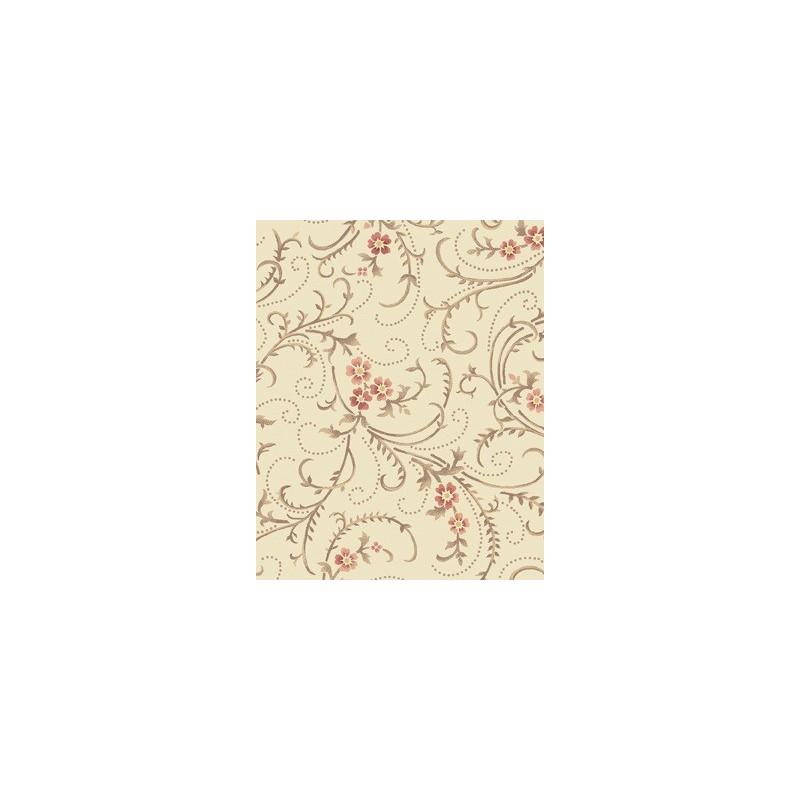 tissu fleur classique
