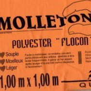 Molleton polyester Flocon