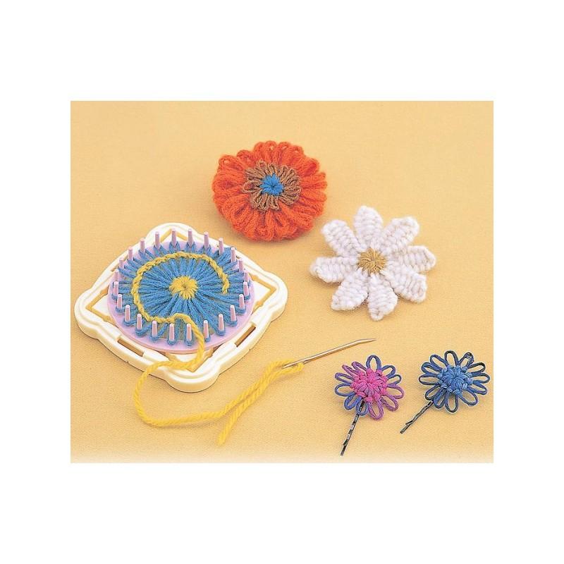 Métier à tisser des fleurs-clover