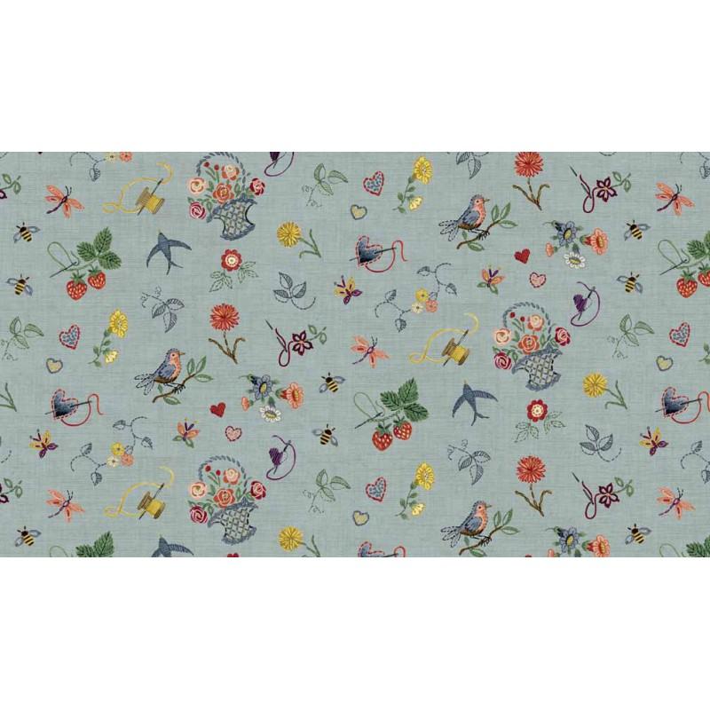 tissu Makower -Sewing Notions-45*55cm