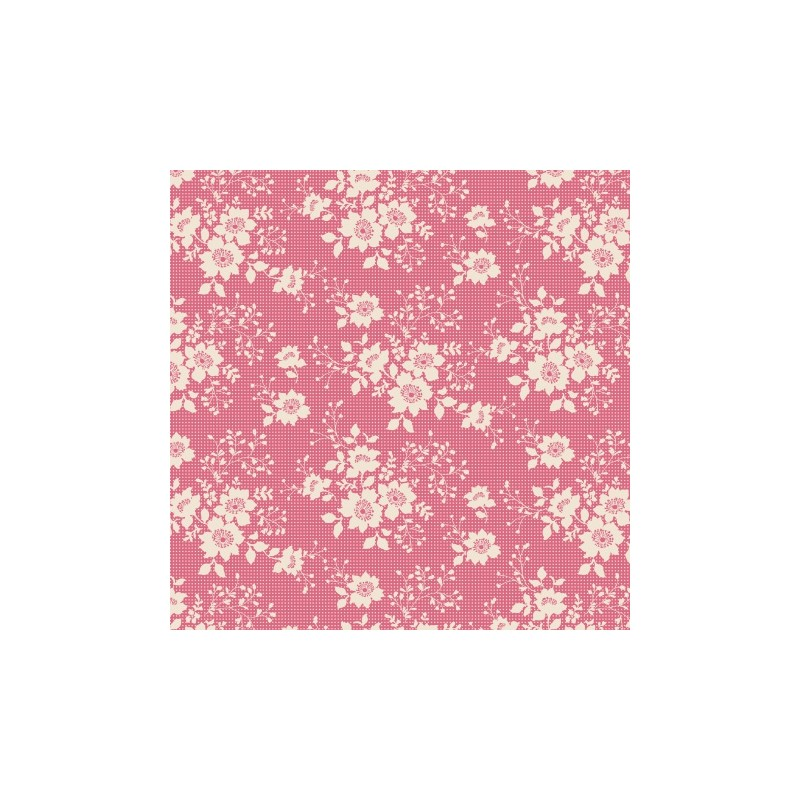 Tissu Tilda 50*55cm libby pink