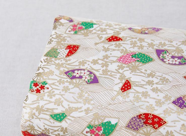 Tissus traditionnel japonais éventail