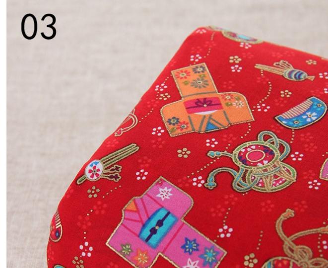 Tissus japonais motif traditionel