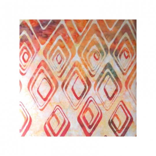 Tissus Batik Bali handpaint