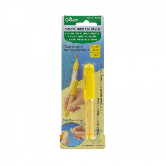 Chaco Liner marqueur tissu jaune