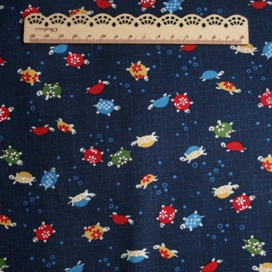 Tissu japonais avec motif tortue