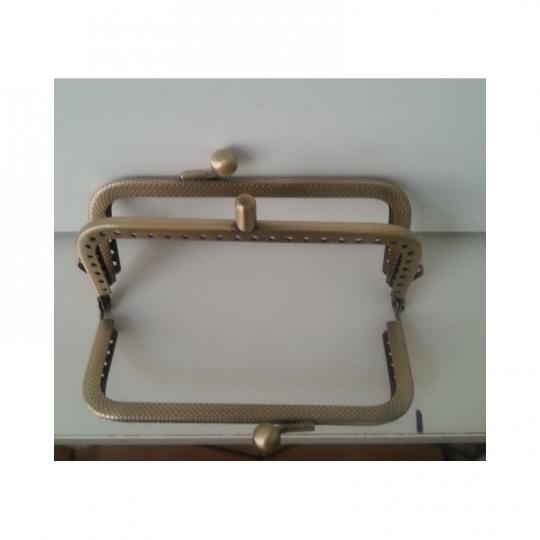 Fermoir double 10.5cm bronze