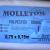 Molleton polyester nuage 0.75m x 0.75m
